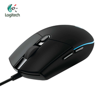 Original Logitech G102 Gaming Wired Mouse Optical Wired Game Mouse Support Desktop/ Laptop Support windows 10/8/7