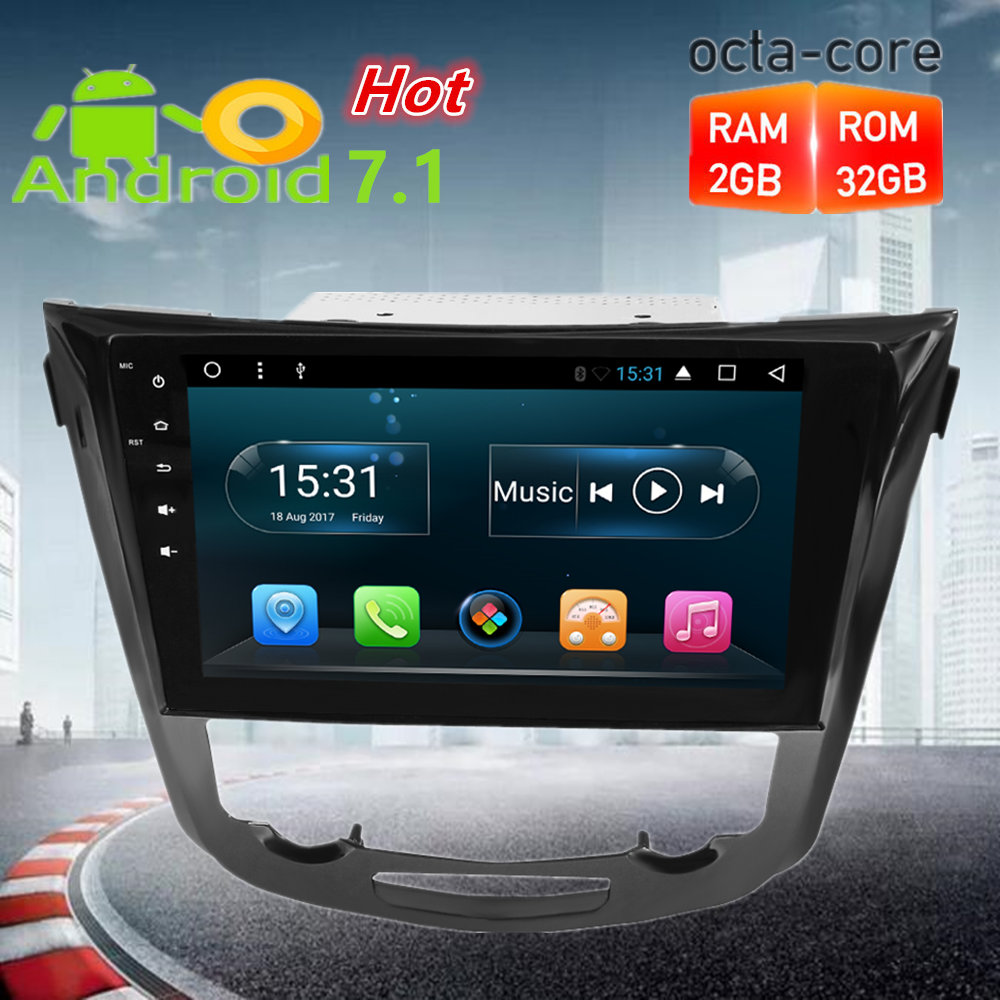 10 Octa Core Android7 1 Car Radio GPS Navigation font b Multimedia b font Player Stereo
