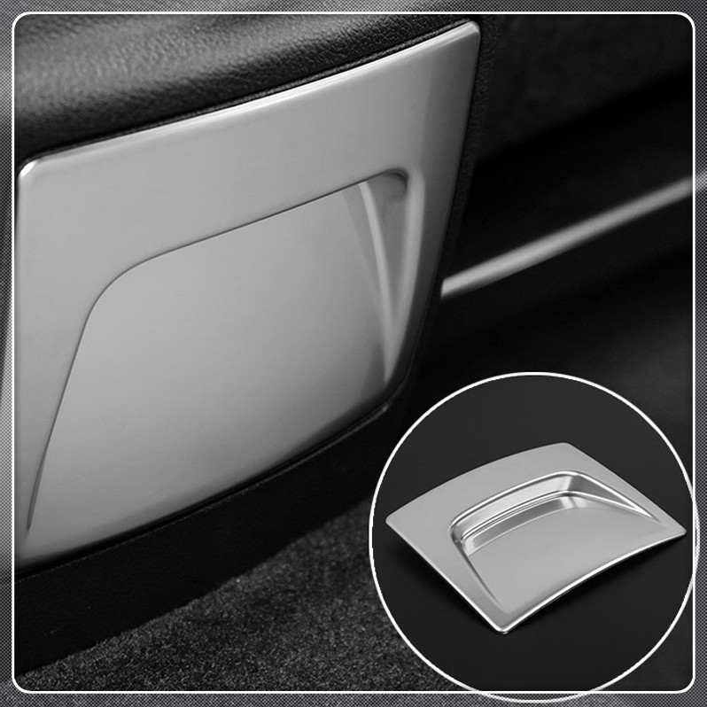 Car Rear storage box Glove Case Cover Trim For Ford Explorer 2011 2012 2013 2014 2015 2016 2017 2018 ABS Matte