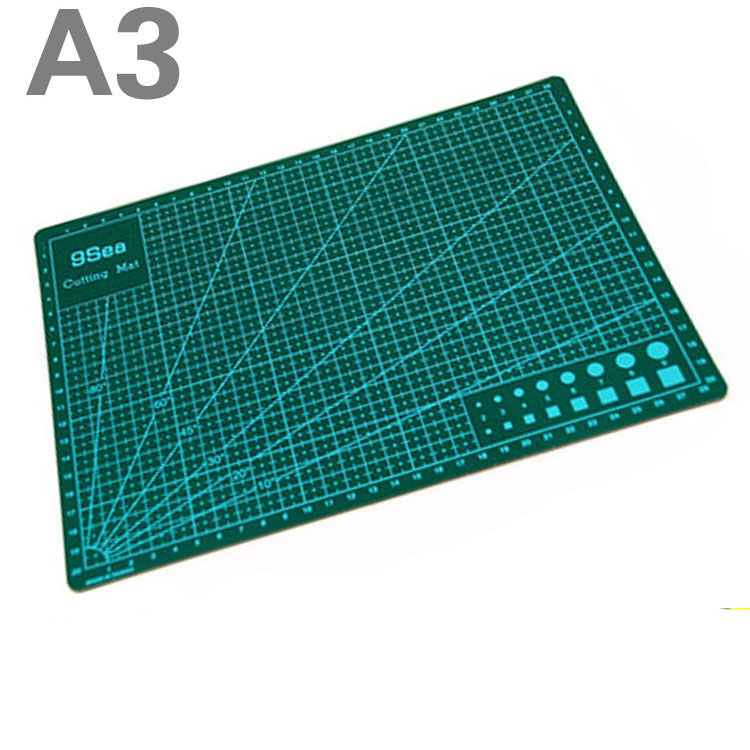 1 Pc/Lot Durable Double-Sided A3 45cmX30cm Cutting Pad & Mat for DIY Tool & Office Supply & Stationery School1 Pc/Lot Durable Double-Sided A3 45cmX30cm Cutting Pad & Mat for DIY Tool & Office Supply & Stationery School
