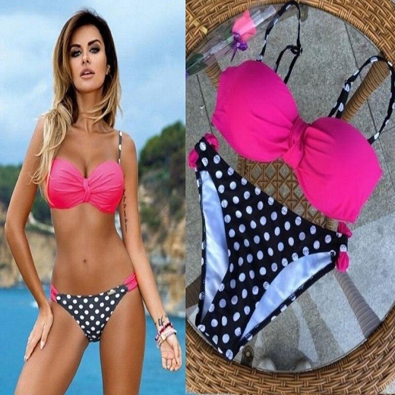 Bikinis 2017 сексуалдық әйелдер Swimsuit Push Up - Спорттық киім мен керек-жарақтар - фото 2