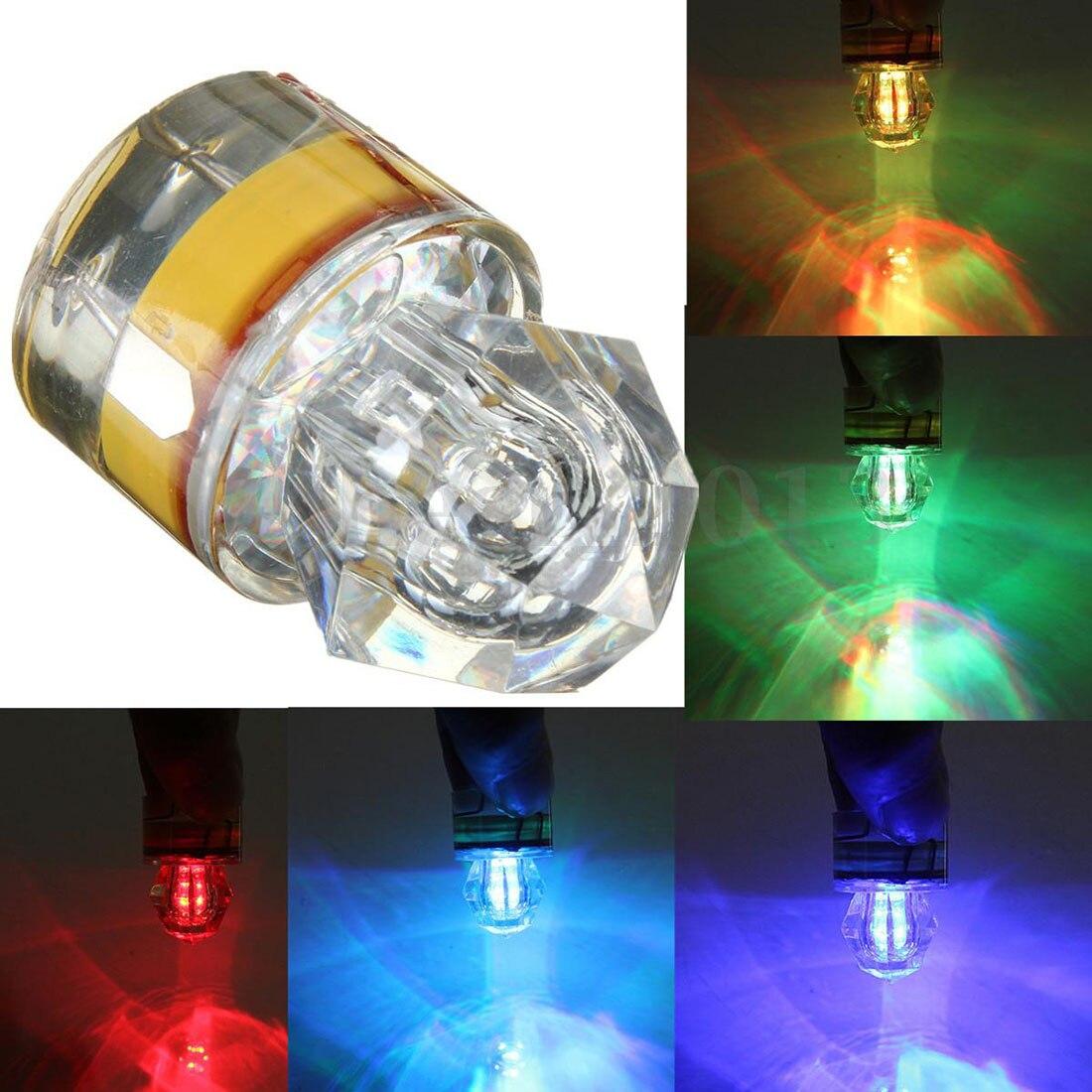 Głębokość LED podwodne światła lampa przynęty wędkarskie na kalmary przynęty głęboki spadek diamentowe światła