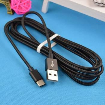 Venta caliente 1/2/3 metros tipo C Cable de carga de línea de datos para Samsung Galaxy S9 S8 Plus Nota 8 USB-C rápido de carga de Cable