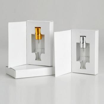Wholesale 300 Pieces/Lot 5ML Glass Perfume Bottle With Atomizer And Customizable Paper Boxes