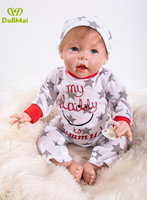 50 CM Dolls Reborn Silicone Baby Dolls For Sale Lifelike real baby boy dolls for Kids Playmate Gifts bebes reborn menino boneca