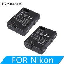 Batterie pour appareil photo Nikon, 7.4V, 1200mAh, EN-EL14, ENEL14 EN EL14, pour modèles D5200, D3100, D3200, D5100, P7000, P7100, MH-24
