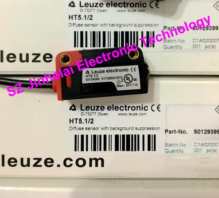 HT5.1/2  New and original Germany LEUZE Photoelectric switch, Photoelectric sensor  NPN output 100% new and original fotek photoelectric switch mr 10x npn