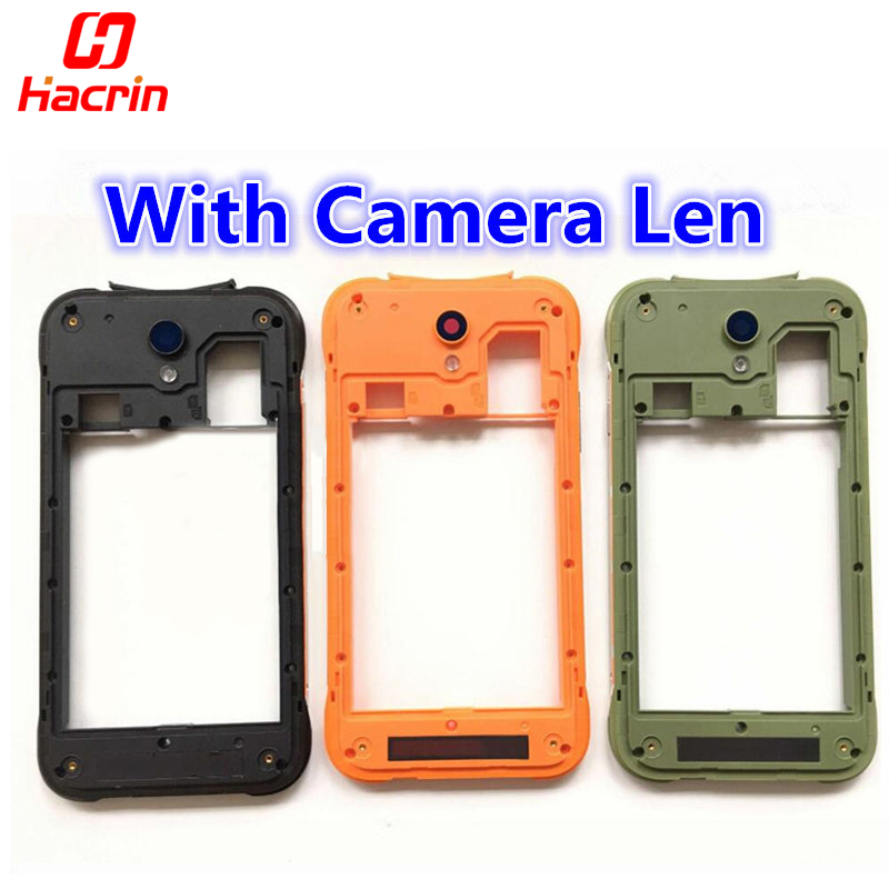 For Blackview BV5000 Frame With Camera Len For Blackview BV5000 Screen Middle Frame Replacement Repair accessory part