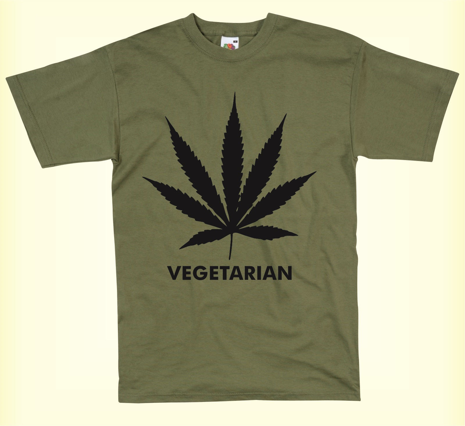 4224bb04 VEGETARIAN WEED SMOKING CANNIBAS LEAF AWESOME FUNNY UNISEX MENS T-SHIRT  Cool T-Shirts Designs Best Selling Men