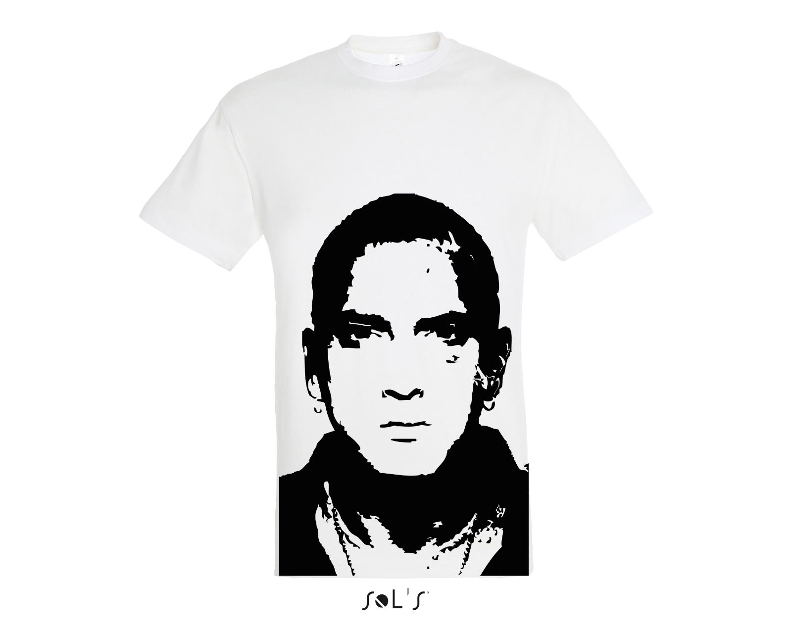 Eminem Killshot Scope Logo T Shirt Rap Tee Hip Hop Shady Stan Kamikaze New White