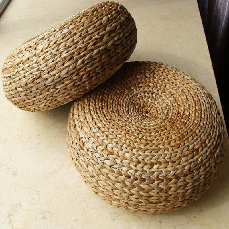 Hot Yoga mat,meditation cushions rattan ottoman stool Traditional natural rattan stool sofa,rattan furniture,wicker stools цена