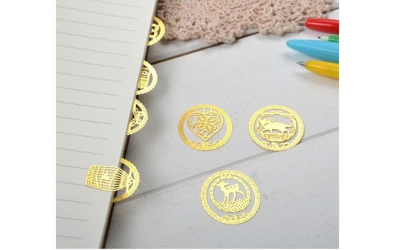 Dokibook-New-Cartoon-Round-Animal-Metal-Bookmark--Office-School-Stationery-Acessories-Creative-Cute-Cilps-Bookmarks-Paper-Clip_11