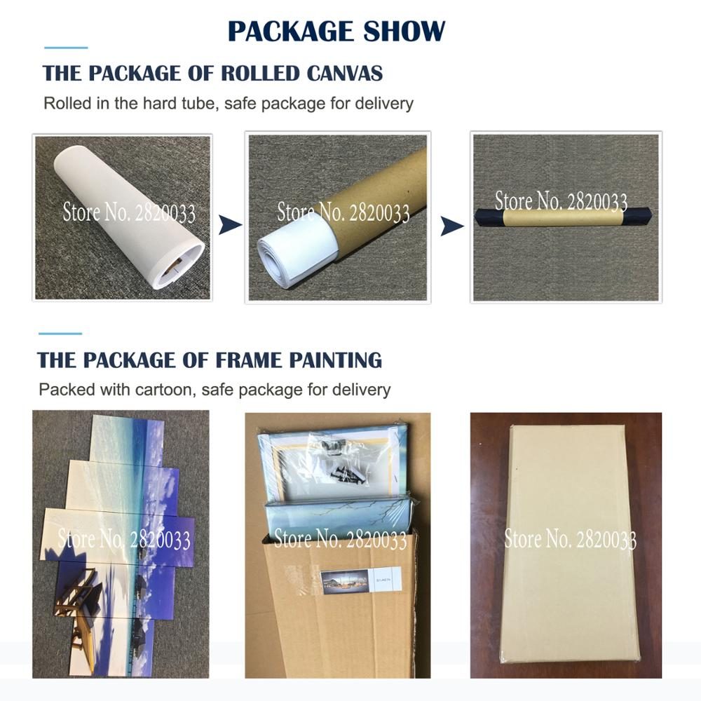 US $12 29 35% OFF Modern Canvas Art Prints Poster Wall Painting Home Decor  Artwork Best Hair Salon tools Wall Art Pictures for Bedroom 3 PIECES-in