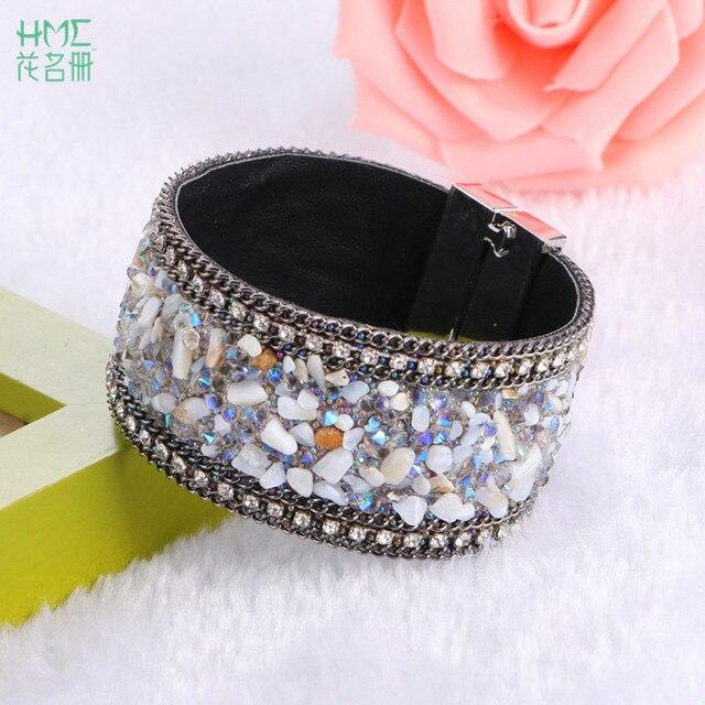 2017 New Fashion High Quality Prong Setting Magnet Bracelets ...