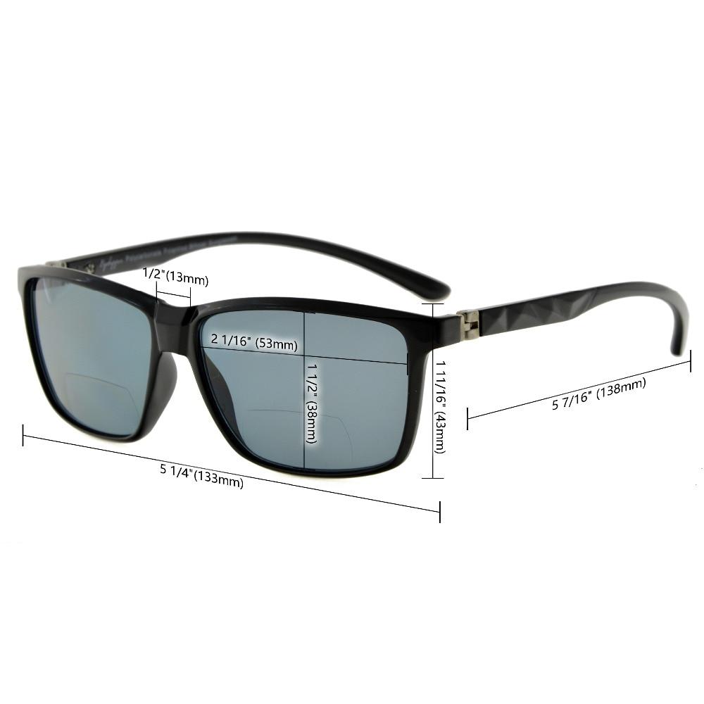 S032 Bifocal Eyekepper gafas de sol bifocales con bisagras de - Accesorios para la ropa - foto 6