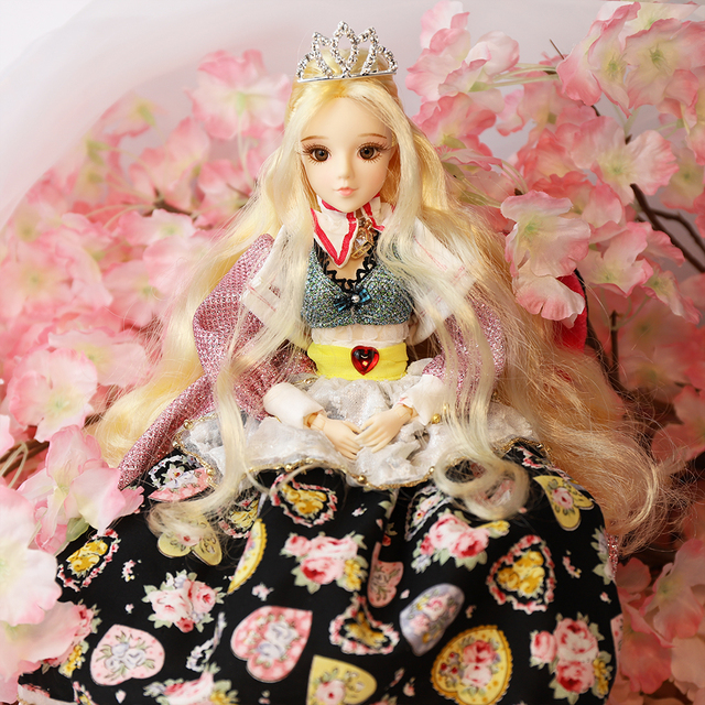 1/6 BJD MMGirl TAROT CARD Doll joint body 30cm Premium gift box packaging girl toy gift