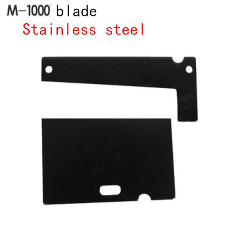 High Strength Steel Blade FOR M-1000 M-1000S Automatic Tape Dispenser Hardness replace cutting blade M1000 M1000S tape cutterHigh Strength Steel Blade FOR M-1000 M-1000S Automatic Tape Dispenser Hardness replace cutting blade M1000 M1000S tape cutter