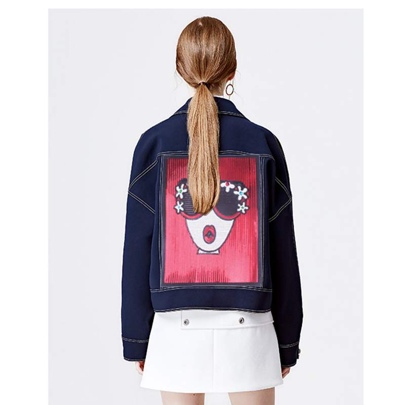 fashion girl patches
