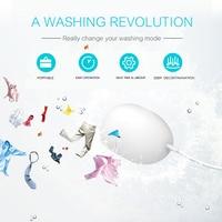Mini Ultrasonic Ultrasonic Washing Machine Laundry Laundry Egg Washing Machine Business Trip Washing Machine
