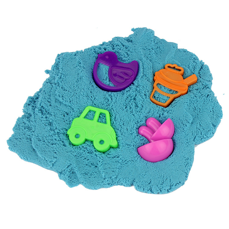 <font><b>Barreled</b></font> Safe and Environmental Protection Coloured Clay <font><b>Slime</b></font> for Children with Four Sets of Moulds Very Interesting image