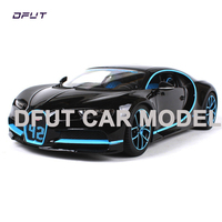 Bburago 1:18 Chiron Metal Diecast Alloy Car Model Toy For Kids Christmas Gifts Toys Collection Free Shipping