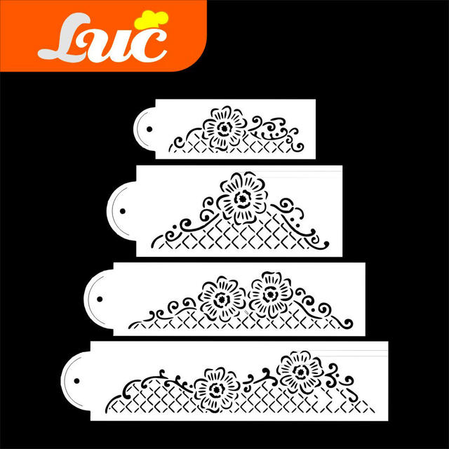 LUC Quality Products Professional Cake Decorating Tools Floral ...