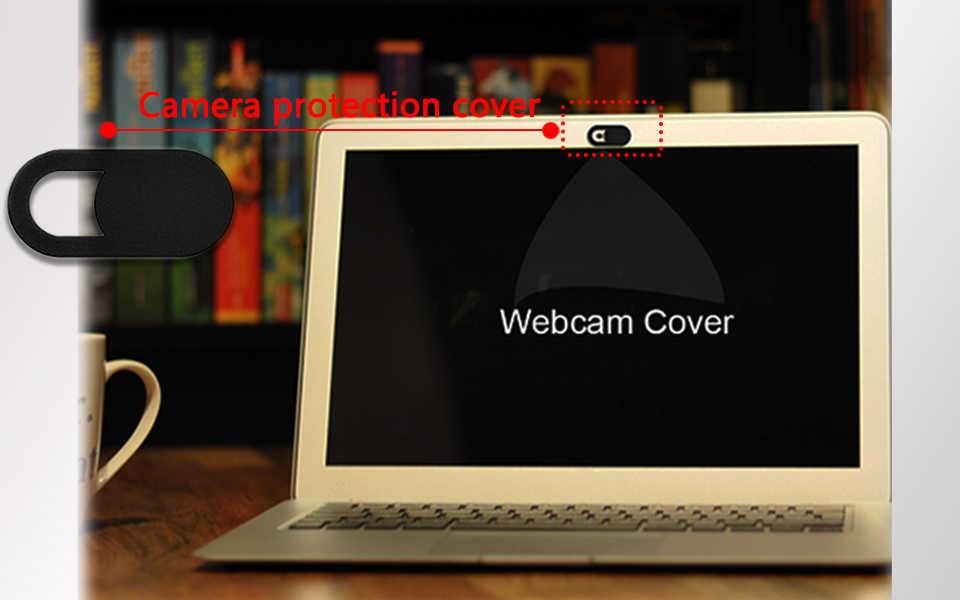 Olhveitra 2 PCS Ímã Tampa De Plástico Deslizante de Webcam Web Camera Para PC MacBook iPad Tablet Smartphone Privacidade Lente Da Câmera de Segurança