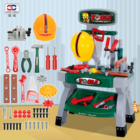 2017 New Arrival Kids Play Pretend Toy Tool Set Workbench Construction Workshop Toolbox Tools Toy Gifts For Children