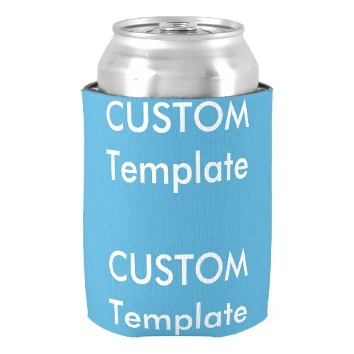 unique custom can cooler chiller sleeve wedding anniversary supplies