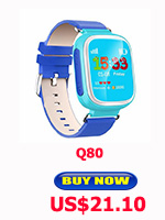 Child Smart Watch Q90 GPS LBS Positioning Children Smart Watch 1.22 Inch Touch Screen SOS Clock Tracker for Kid Safe Monitor#C1 25