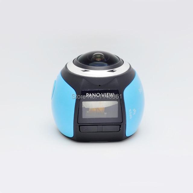 New 360 Camera 4K WiFi Mini Panoramic Camera 2448*2448 Ultra HD Camera 360 Degree 30m Waterproof Sport Driving VR Camera