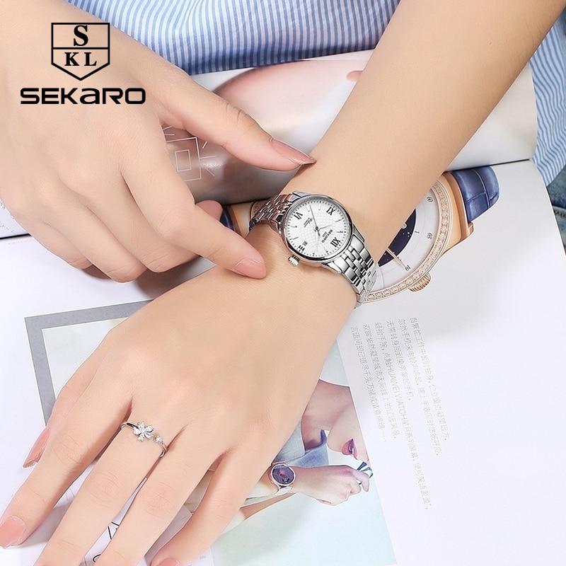Sekaro mærke kvinders mekaniske ur luksus berømte automatiske watch - Dameure - Foto 4