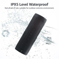 Newest Wireless Portable Speaker Stereo Sound System T2 bluetooth speaker with Flashlight IPX5 Waterproof