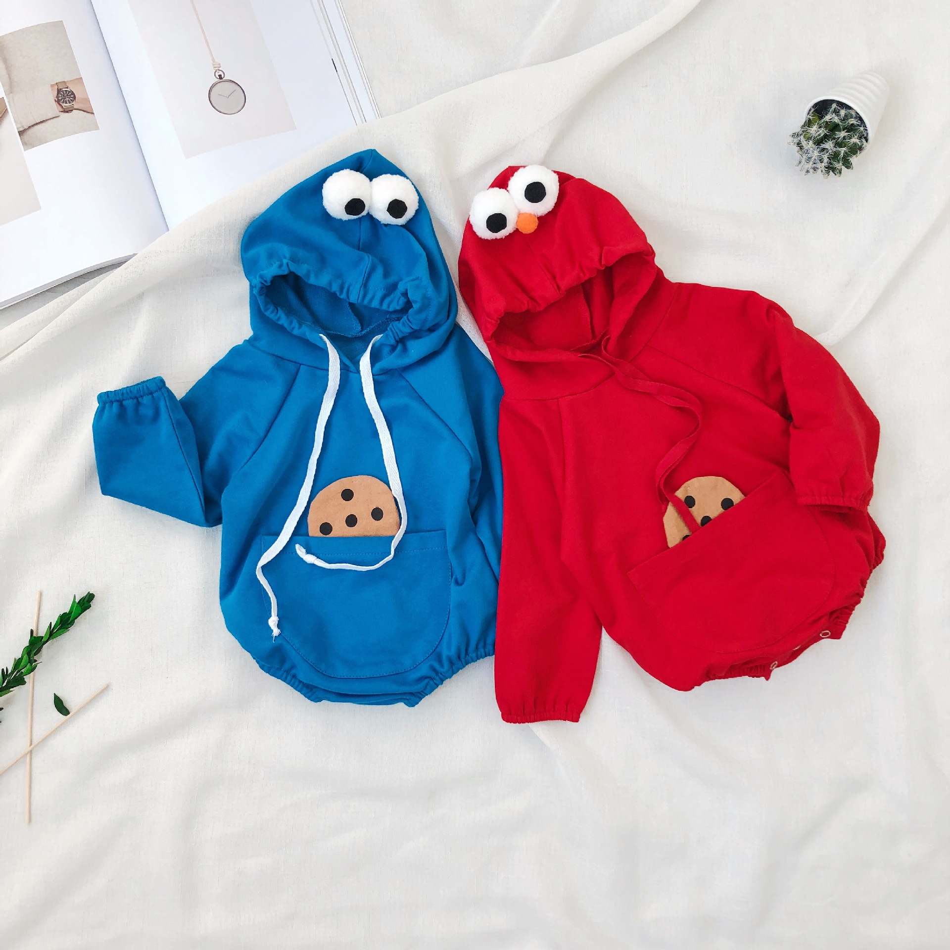 2020 Autumn Hat Baby Outwear Rompers Biscuit  Kazakhstan Boys And Girls Infant-clothing Baby Girl Clothes