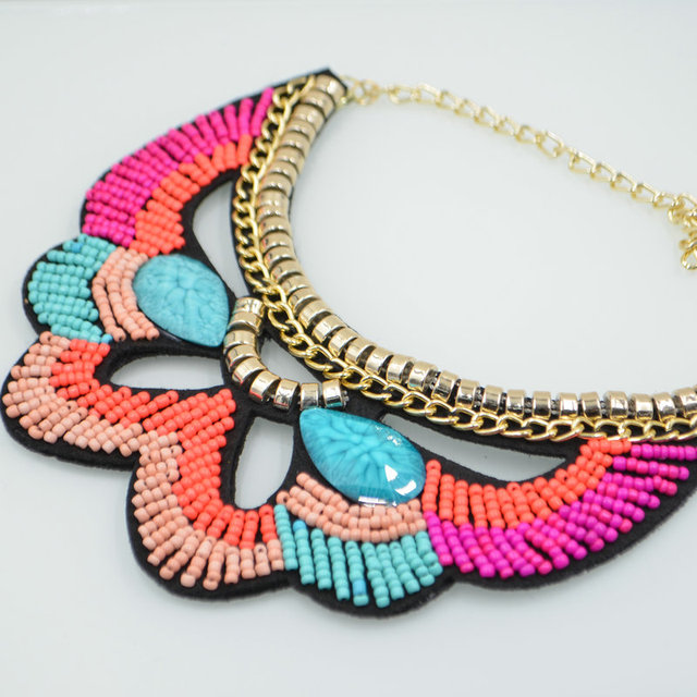 Fancywork Collar Necklace Ancient Ornaments