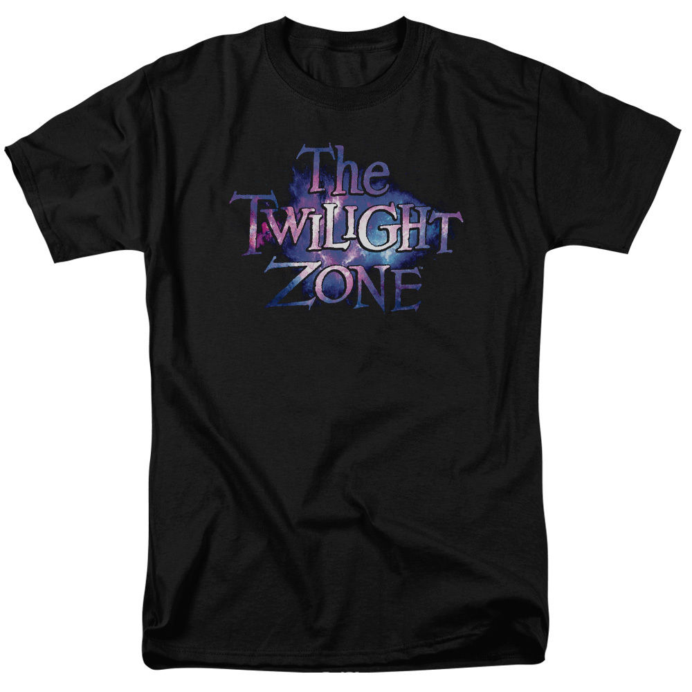 Twilight Zone Show COLOR TWILIGHT GALAXY LOGO Adult T-Shirt All Sizes T-Shirt Fashiont Shirt Free Shipping top tee