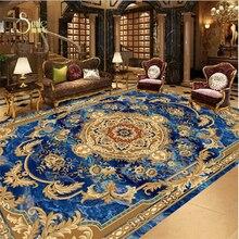 beibehang tile custom European style marble carpet pattern 3d floor tiles self adhesive wallpaper vinyl flooring waterproof