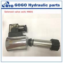 MFZ8-50YC гидравлический электромагнитный клапан 4WE6 катушки, Высота 50,5 мм, внутреннее отверстие 23,2 мм, DC12V DC24V AC110V AC220V с высоким качеством