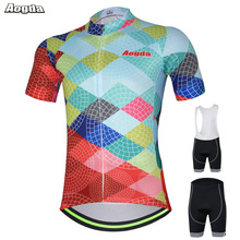 AOGDA Original Design Men Women Cycling Sets PRO Cycling Jerseys 3D Padded Pants Breathable Bike Clothing