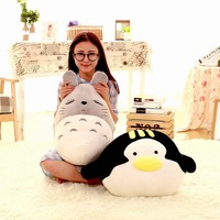 2016 Cute Penguin Pillow,Totoro pillow,Penguins Plush Toys,Super Soft And Comfortable