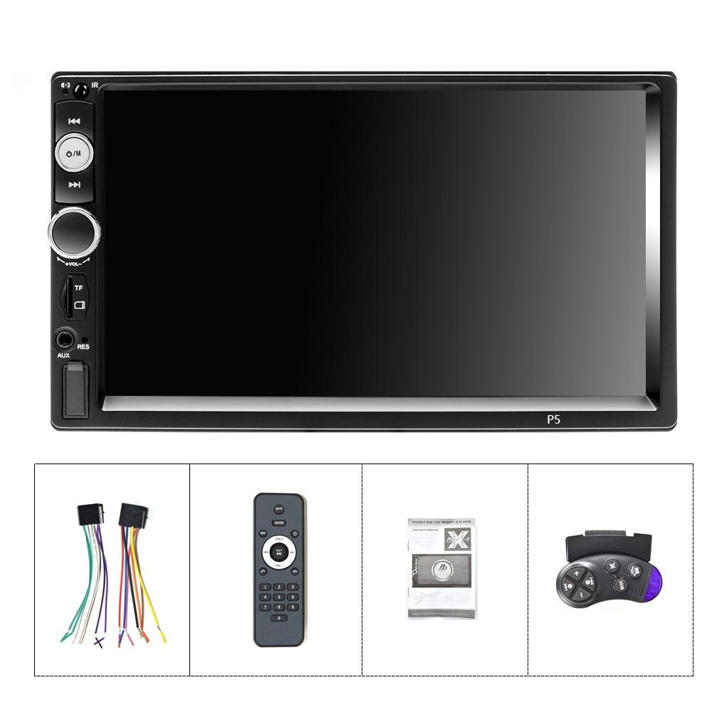 Car Stereo MP5 Autoradio Mirror Link DVR BT/USB/TF/FM Camera 2Din Car Radio 7