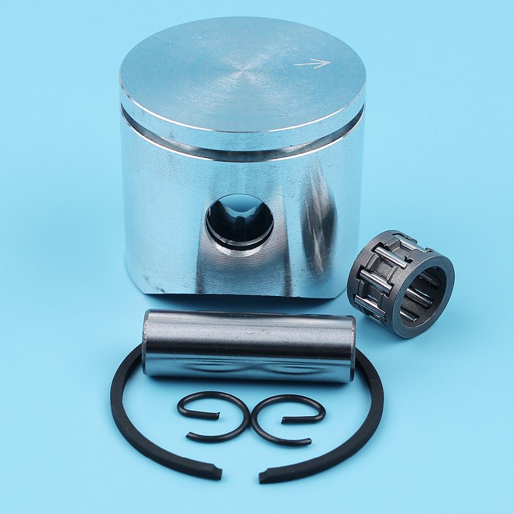 38mm Piston Ring Pin/Finger Circlip Kit For Husqvarna 36 136 137 141 142 136LE 137E Chainsaw #530069944