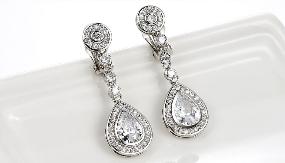 Chandelier Clip Earrings TopEarrings – Clip on Earrings Chandelier