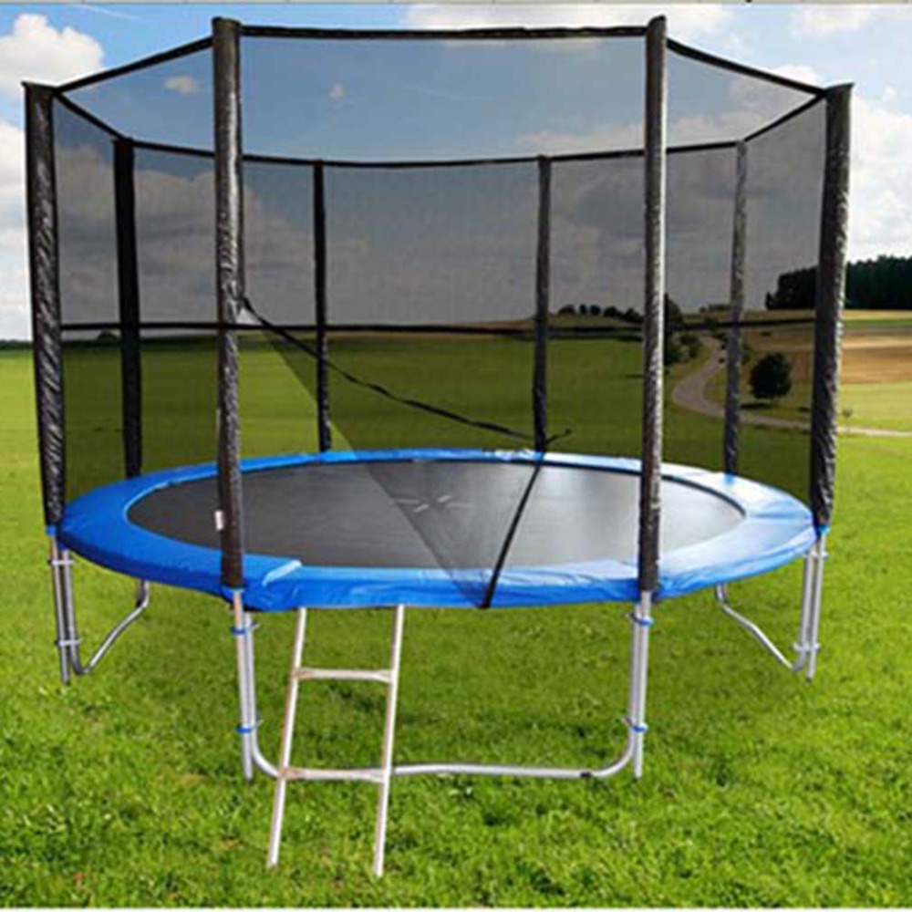 <font><b>Trampoline</b></font> Replacement Safety Net Enclosure Surround Outdoor For 6ft 8ft 10ft 12ft 13ft 14ft Circular <font><b>Trampoline</b></font>