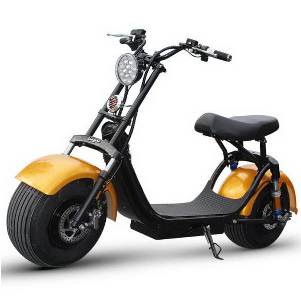 Citycoco Electric Scooter Adult E Bike 1500W 1000W 2017