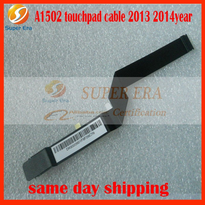 10pcs / partijos A1502 jutiklinis kabelis, skirtas tik MacBook Pro 13inch A1502 593-1657-A 2013 2014m.