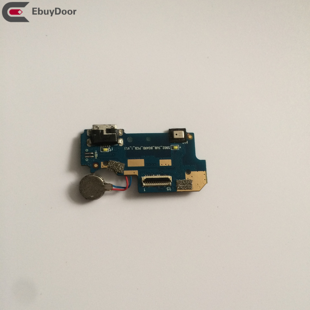 Used USB Plug Charge Board + Vibration Motor Repair Replacement Accessories For Blackview Arrow V9 Free Shipping