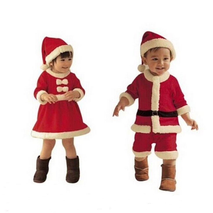 children Christmas gift 2015 baby jumpsuit baby girls boys Santa Claus costume outfit newborn boys girls romper children costume christmas gift 2016 hot baby jumpsuit santa claus clothes kids overalls newborn boys girls romper children costume