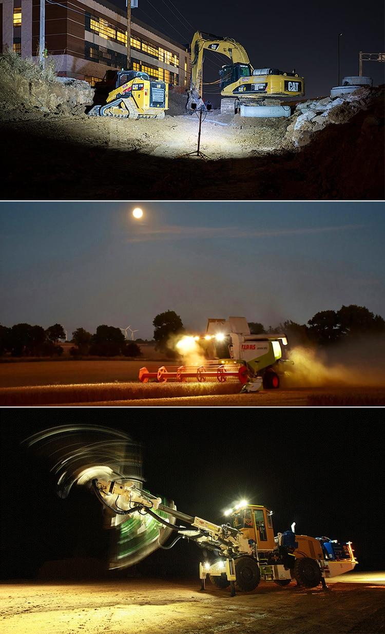 HTB1L5BFXk5E3KVjSZFCq6zuzXXaC OKEEN 4inch 10cm 18W 27W 48W Offroad Car 4WD Truck Tractor Boat Trailer 4x4 SUV ATV 24V 12V Spot LED Light Bar LED Work Light