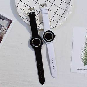 Image 5 - Nuevo Producto, reloj de concepto de tendencia sin puntero, marca creativa Simple, relojes para hombre y mujer, reloj femenino
